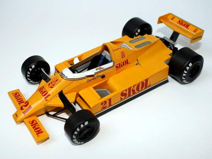 Fittipaldi F7 171 Modely F1